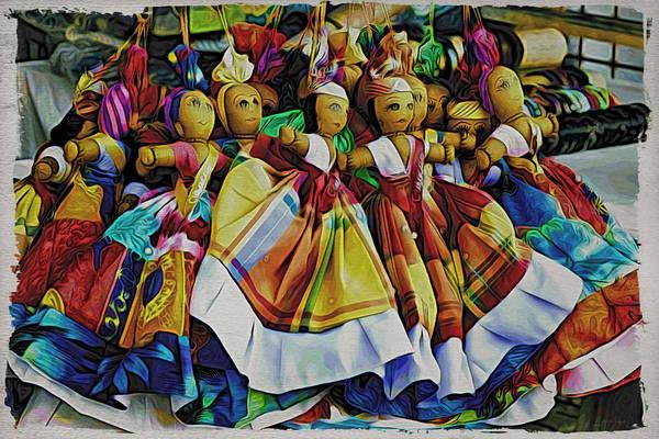 Wall Art - Photograph - Curacao Girls by Alice Gipson