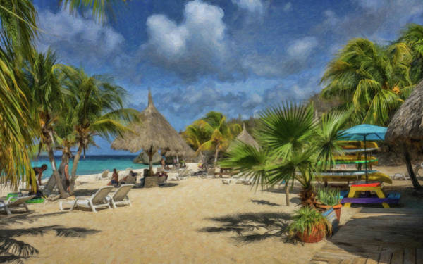 Painting - Curacao - Ls921699 by Dean Wittle