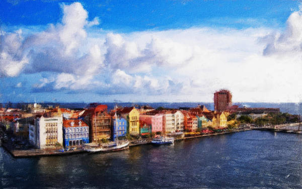 Painting - Curacao Oil by Dean Wittle