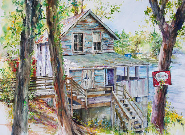 Painting - Curb Appeal by P Anthony Visco
