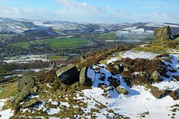 Photograph - Curbar Edge by David Birchall