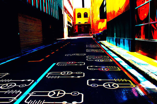 Photograph - Curcuit City by Susan Vineyard