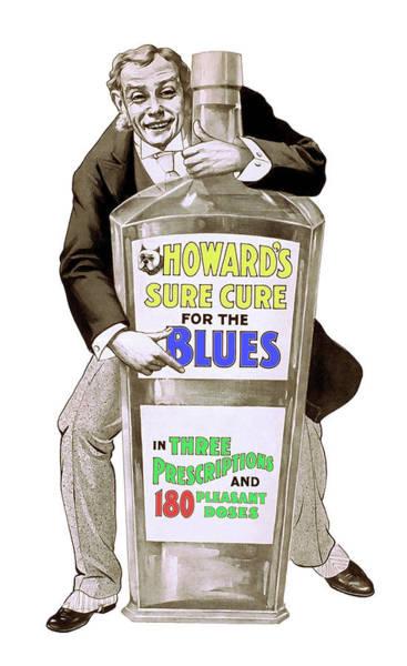 Wall Art - Digital Art - Cure For The Blues 1899 by Daniel Hagerman