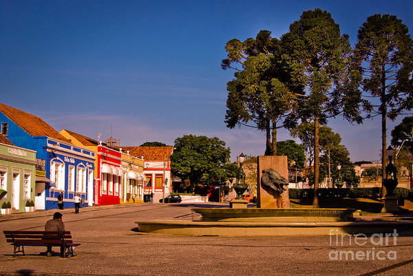 Photograph - Curitiba - Largo Da Ordem - Centro by Carlos Alkmin