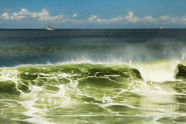 Painting - Curl Of A Wave by Deborah Benoit