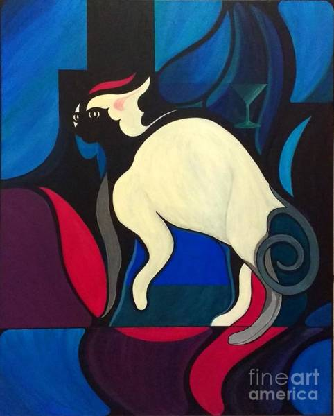Bells Painting - Pyewacket by John Lyes