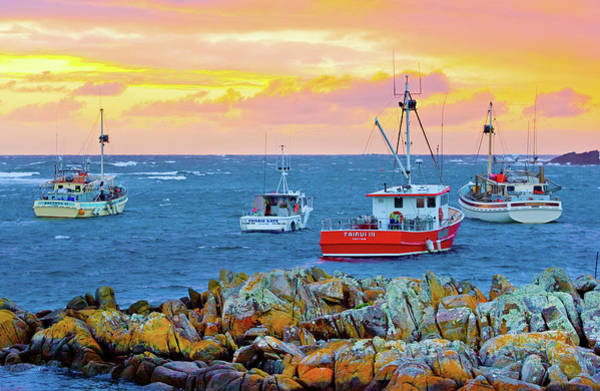 Harbour Island Photograph - Currie Harbour Pastels by Sean Davey