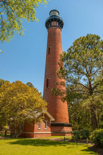Photograph - Currituck Beach Lighthouse by Brenda Jacobs