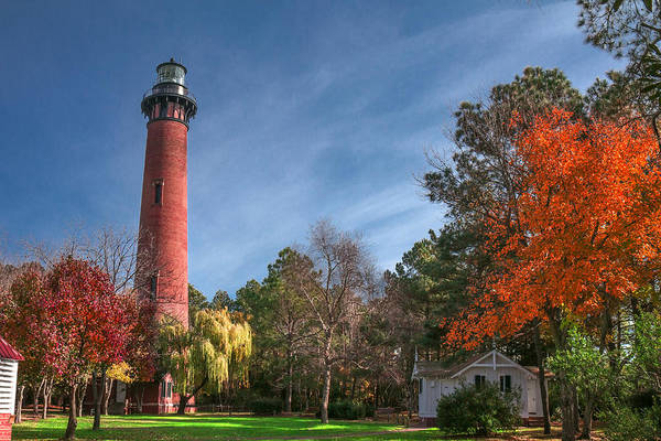 Photograph - Currituck Lighthouse  by Mary Almond