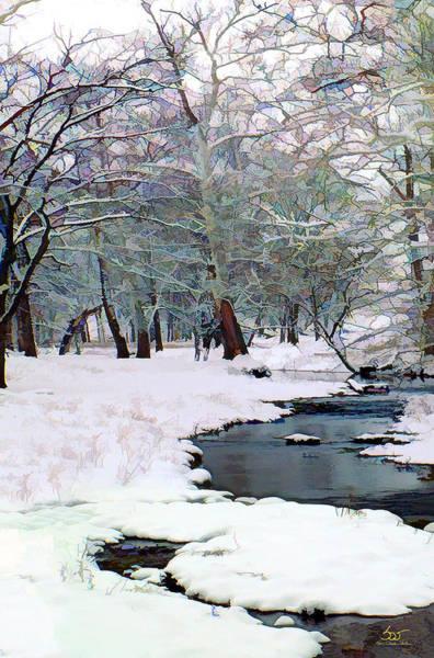 Photograph - Curry Stream Winter by Sam Davis Johnson