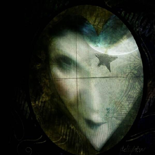Digital Art - Cursed by Delight Worthyn