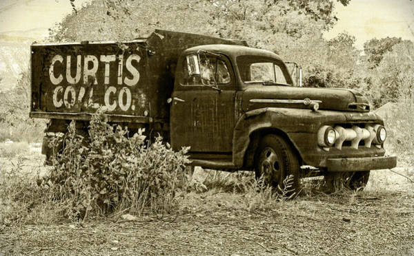 Photograph - Curtis Coal Sepia by David King