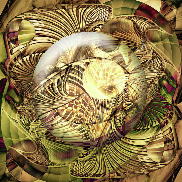 Showpiece Digital Art - Curvacity by Andy Young