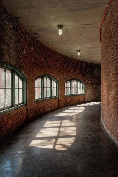 Photograph - Curved Bricks And Windows          by Tom Singleton