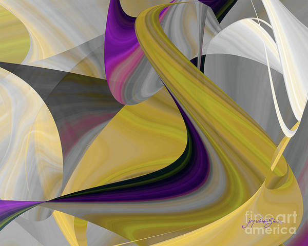Digital Art - Curvelicious by Jacqueline Shuler