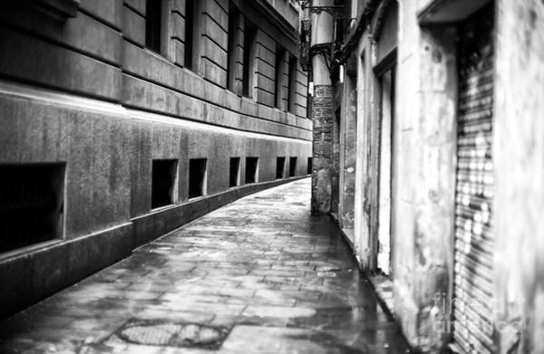 Photograph - Curves In The Barcelona Gothic Quarter by John Rizzuto