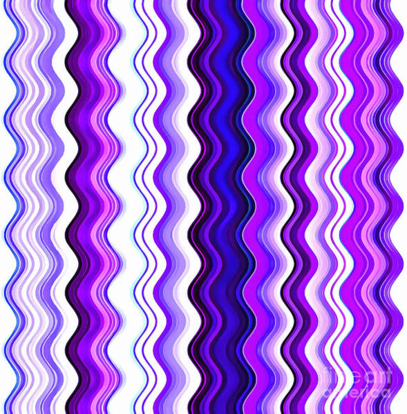 Vertical Line Digital Art - Curvy by Krissy Katsimbras