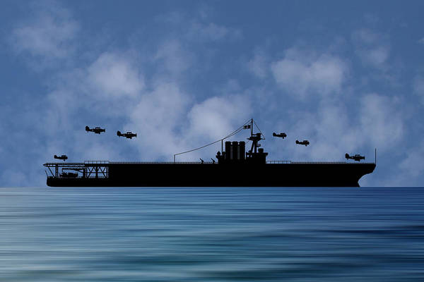 Cruiser Wall Art - Photograph - Cus Washington 1926 V1 by Smart Aviation