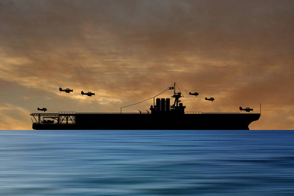 Cruiser Wall Art - Photograph - Cus Washington 1926 V2 by Smart Aviation