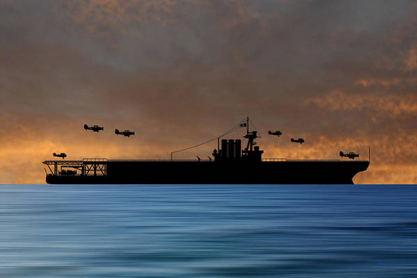 Cruiser Wall Art - Photograph - Cus Washington 1926 V3 by Smart Aviation