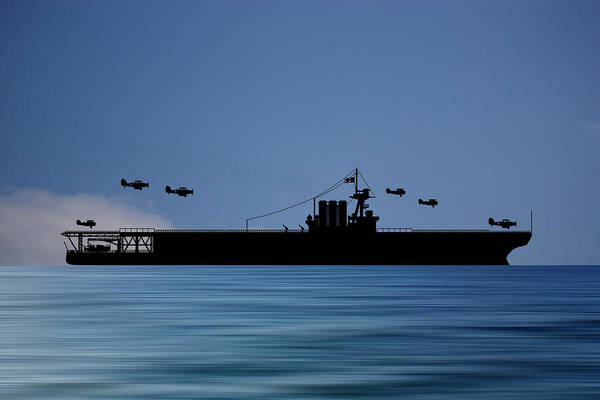 Cruiser Wall Art - Photograph - Cus Washington 1926 V4 by Smart Aviation