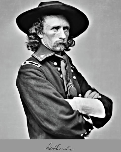 Photograph - Custer Half View by John Feiser