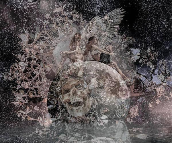 Wall Art - Digital Art - Custom 06032017 Upon Deaf Ears by Betsy Knapp