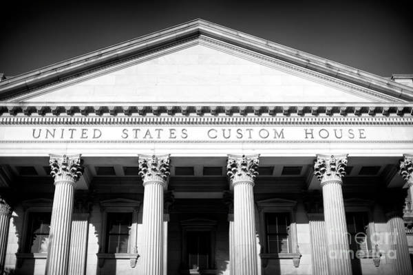 Photograph - Charleston Custom House Details by John Rizzuto