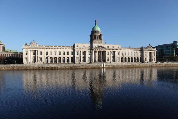 Wall Art - Photograph - Custom House Dublin Ireland by Joe Burns