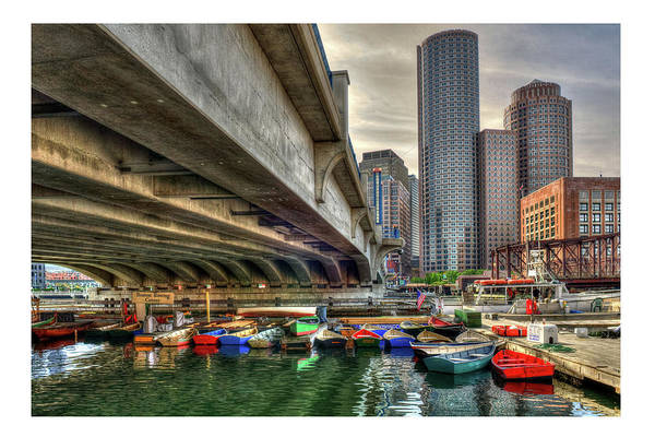 Photograph - Custom Order - Boston Rowing Center by Joann Vitali