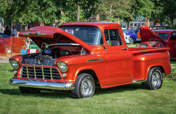Lethbridge Photograph - Custom Pickup Truck by Mike Fitton