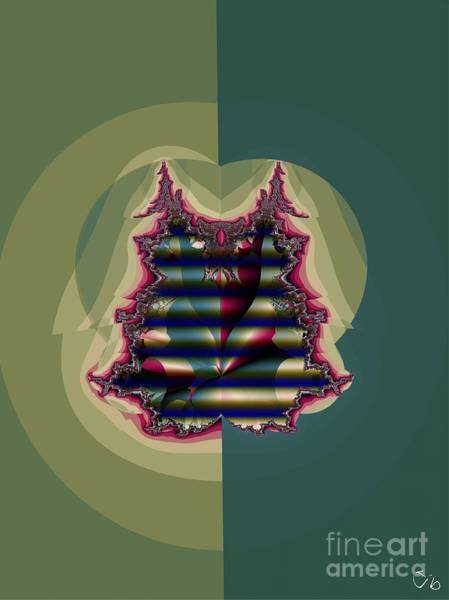 Quilt Digital Art - Custom Quilted Shade by Ron Bissett