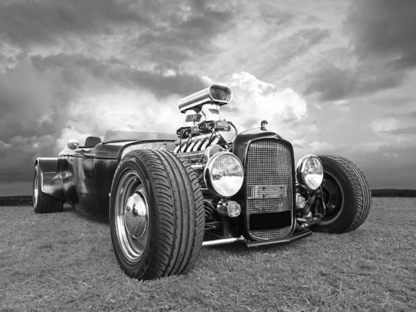 Photograph - Custom Rod - Black And White by Gill Billington