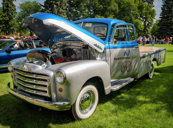 Lethbridge Photograph - Custom Truck by Mike Fitton