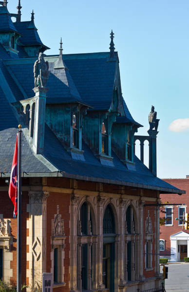 Photograph - Customs House In Clarksville by Ed Gleichman