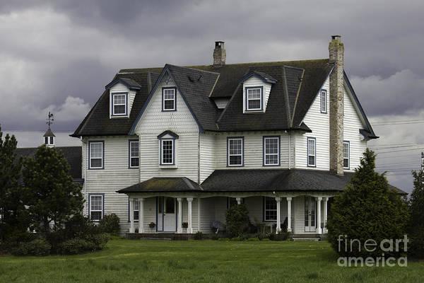 Photograph - Cute Tsawassen House by Donna L Munro