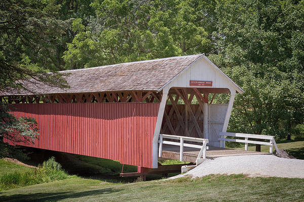 Photograph - Cutler Donahoe Covered Bridge by Susan Rissi Tregoning