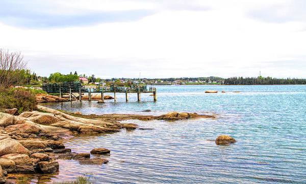 Photograph - Cutler Pier by Betty Pauwels
