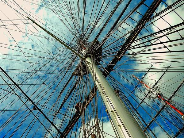 Photograph - Cutty Sark by Gerald Greenwood