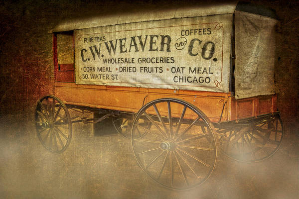 Photograph - C.w. Weaver And Co. Wagon by Susan Candelario