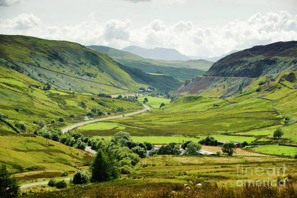 Photograph - Cwm Prysor Valley, Snowdonia National Park by Keith Morris