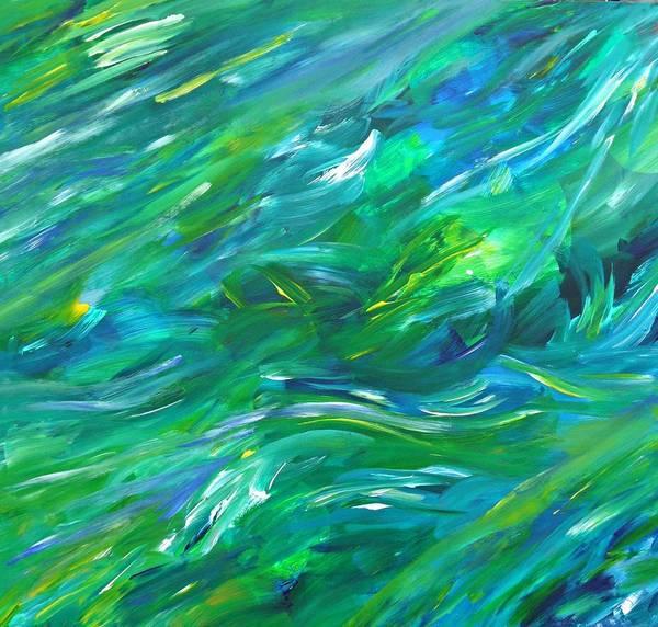 Painting - Cy Lantyca 15 by Cyryn Fyrcyd