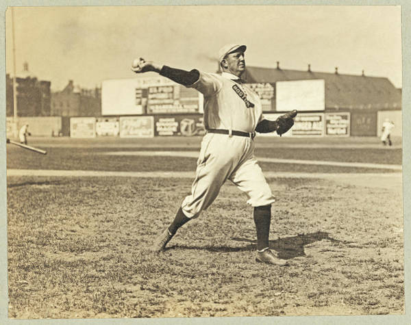 Photograph - Cy Young July 23rd 1908 by Paul and Janice Russell