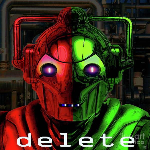 Revolting Digital Art - Cyberman by Neil Finnemore