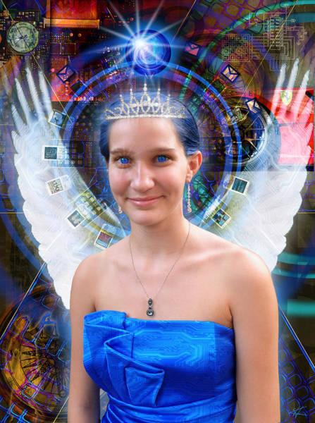 Digital Art - Cybernuf by Kenneth Armand Johnson