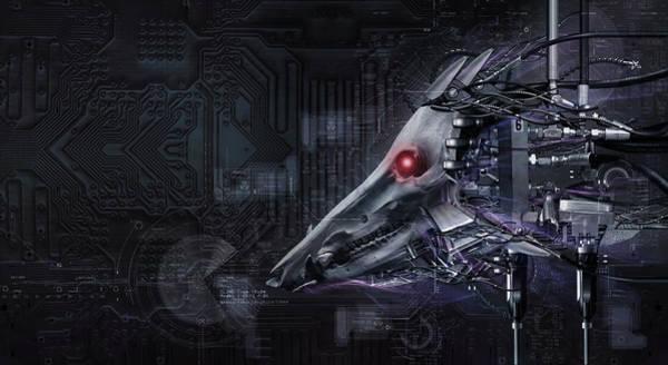 Cyborg Digital Art - Cyborg by Mery Moon