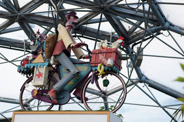 Photograph - Cycling Automaton No. 2 by Helen Northcott