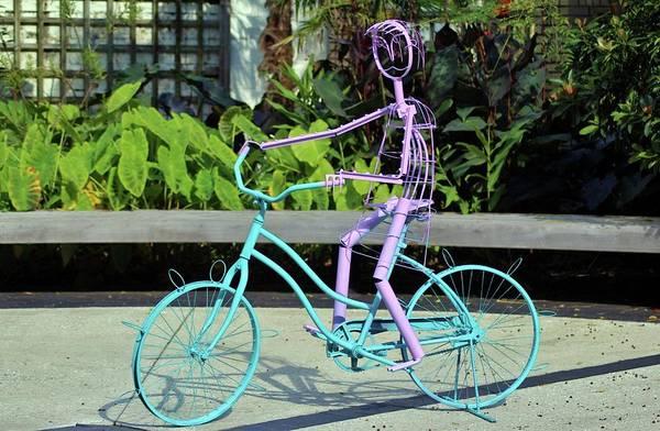 Photograph - Cycling Girl by Cynthia Guinn