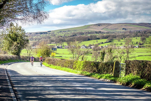 Wall Art - Photograph - Cycling In Lancashire by W Chris Fooshee