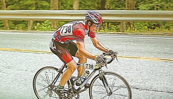 Endorsement Photograph - Cyclist by Jan Tyler